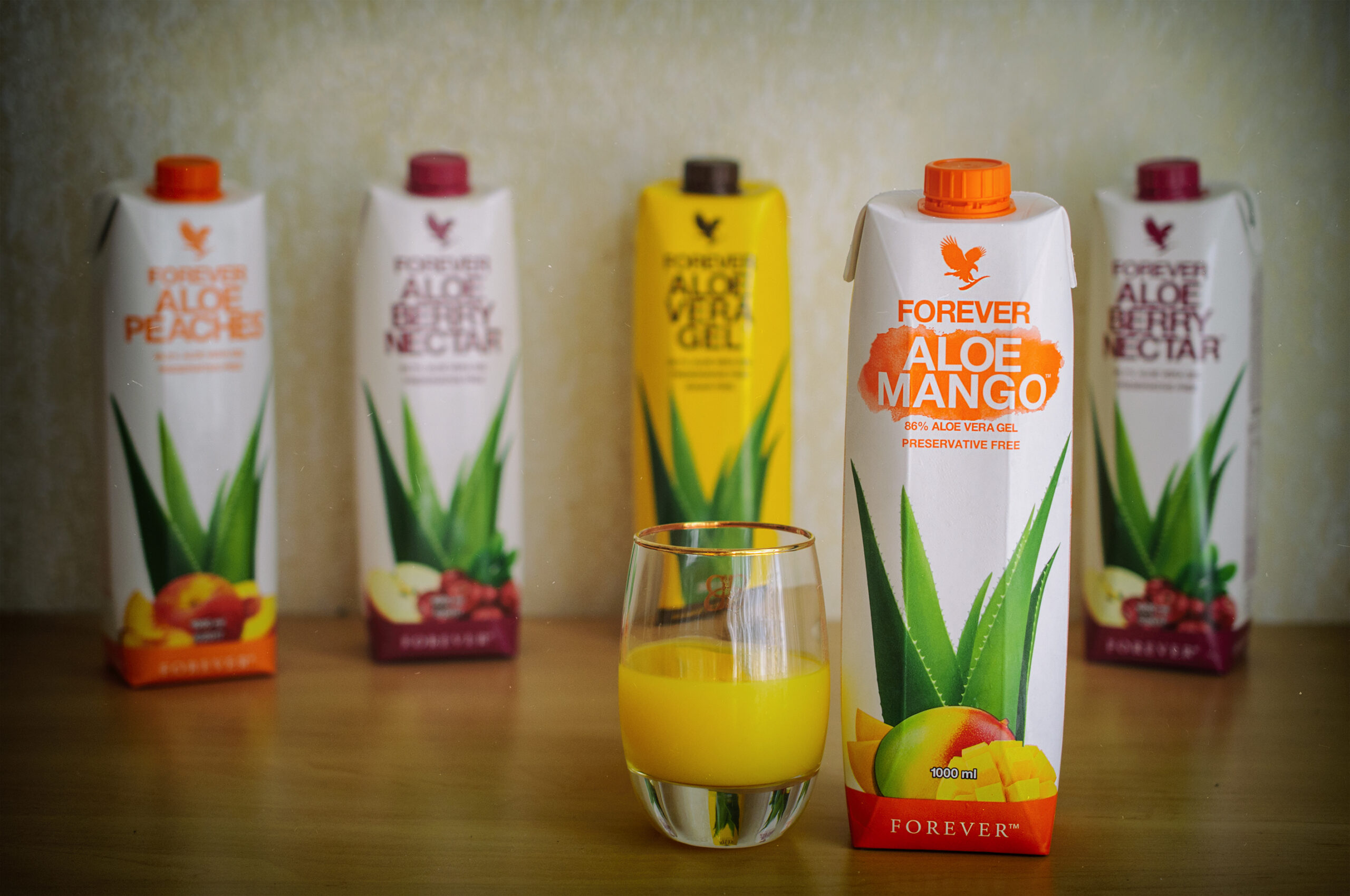алое манго